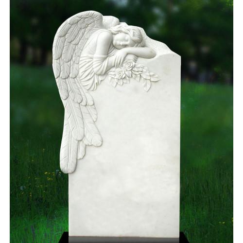 "Плита надгробная ""Спящий ангел"""