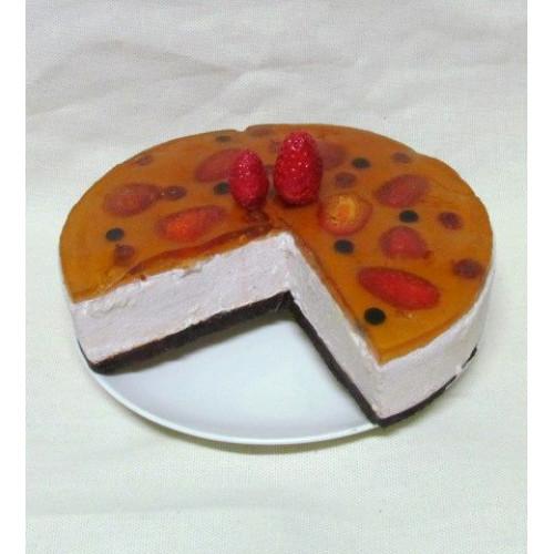 Муляж клубничный торт