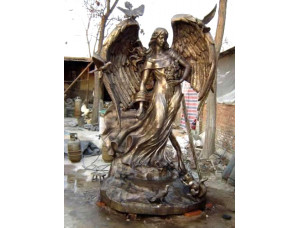 Скульптуры из бронзы надгробие Ангел