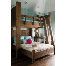 Массивная кровать Семья Люкс