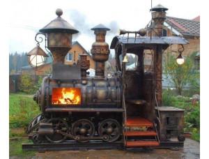 Поезд мангал