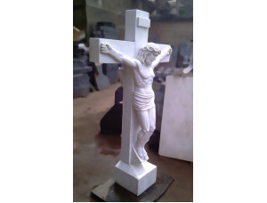 Скульптура из мрамора Распятие