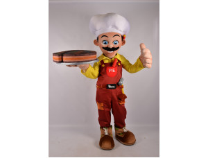 Ростовая кукла «Повар с тортом»