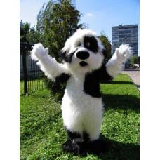 Ростовая кукла «Собака черно-белая»