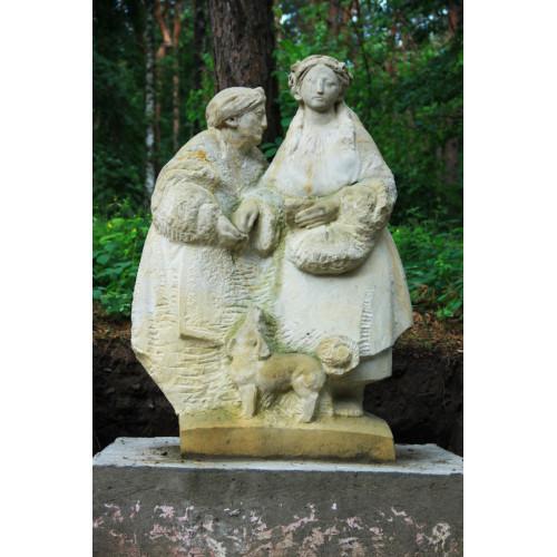 Каменные скульптуры бабы