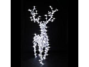 Новогодняя светодиодная фигура Олень